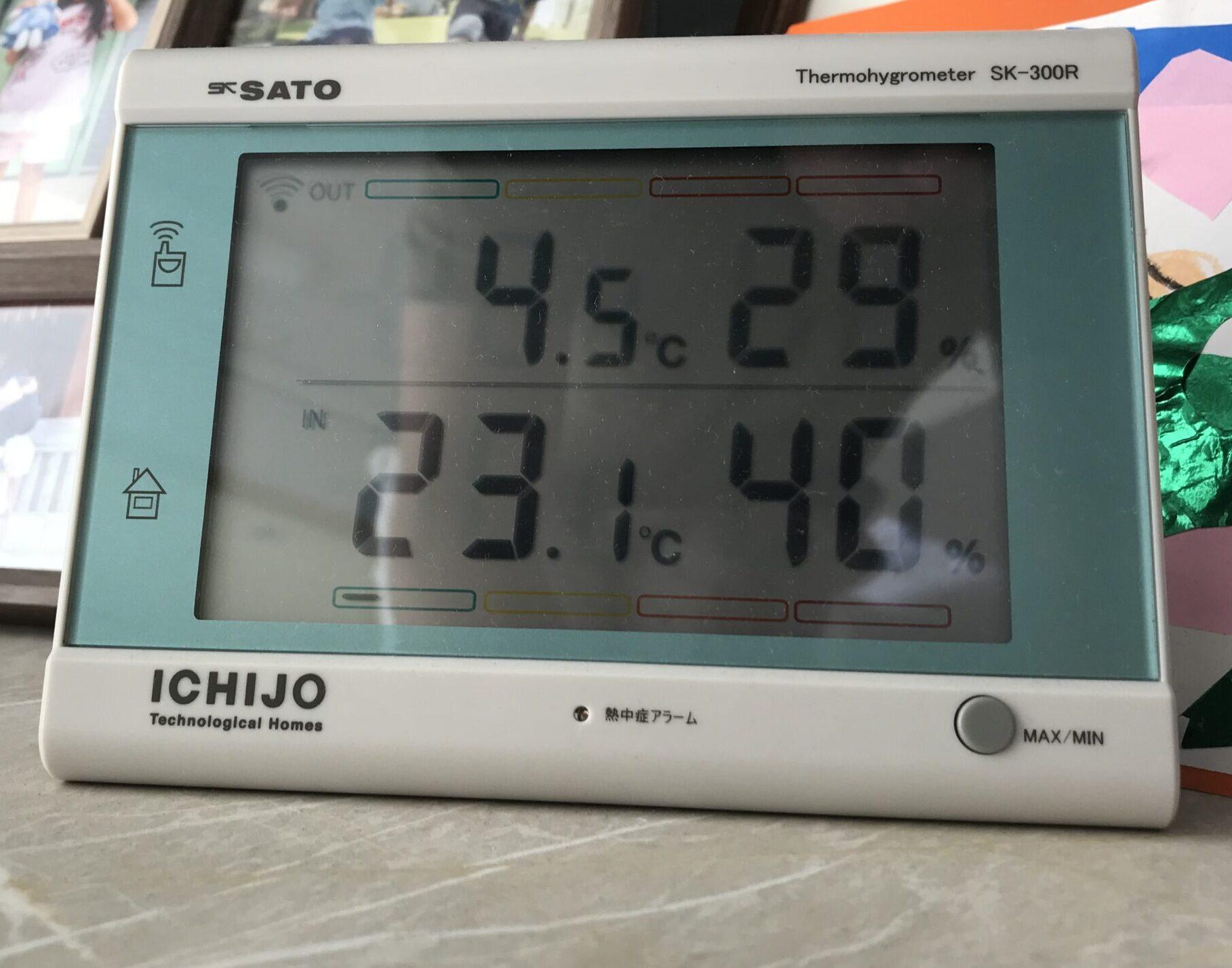 データーある中で一番湿度が低い写真