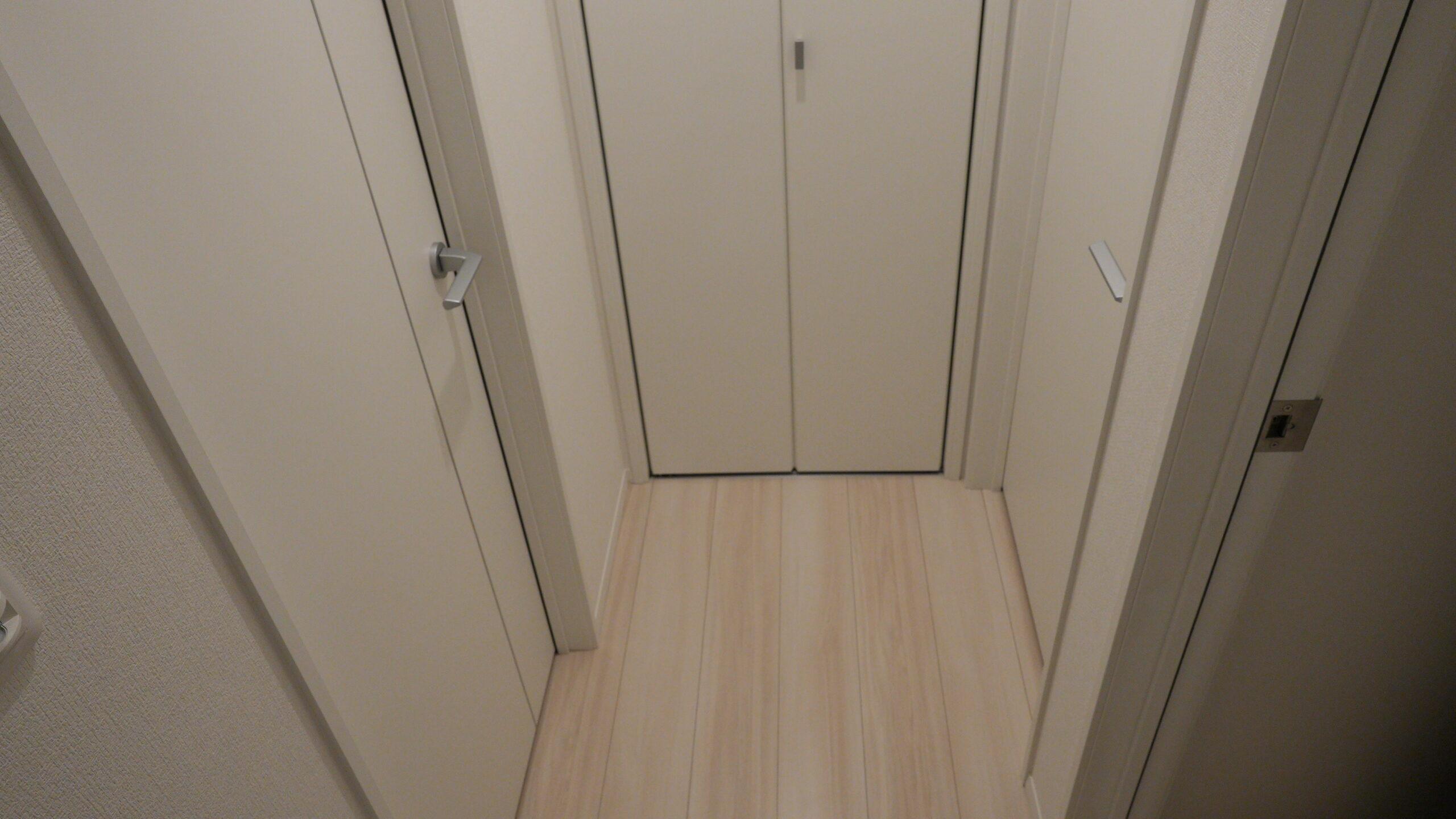 幅80cmの廊下
